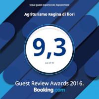 Guest Reviews Awards<br>Booking.com - 2016